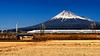 (Sunrider007) Tags: sony a7r3 2470 fuji fujisan fujiyama shinkanesn bullettrain tokaido japan shizuoka mountain volcano winter snow transport landscape cpl polariser polarizer field rural
