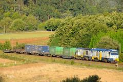 Lamas (REGFA251013) Tags: feve 1662 1607 tren via estrecha españa galicia comboio ferrol pravia