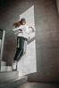 MRGRT-17 (qauqe) Tags: nike air force 1 af1 street urban jjstreet dance company hip hop hiphop house nikon d40 white locks portrait woman girl teenager tallinn estonia elevator stairway photography black bw graffiti stretshopone classics camo cityscape skyscraper