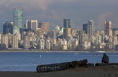 Vancouver (Clayton Perry Photoworks) Tags: vancouver bc canada explorebc explorecanada spanishbanks skyline buildings