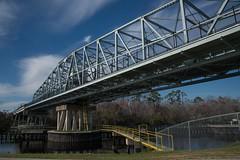 DSC_5381 (Copy) (pandjt) Tags: roadtrip unitedstates usa southcarolina northmyrtlebeach northmyrtlebeachsc barefootresortbridge barefootresortswingbridge swingbridge intracoastalwaterway bridge