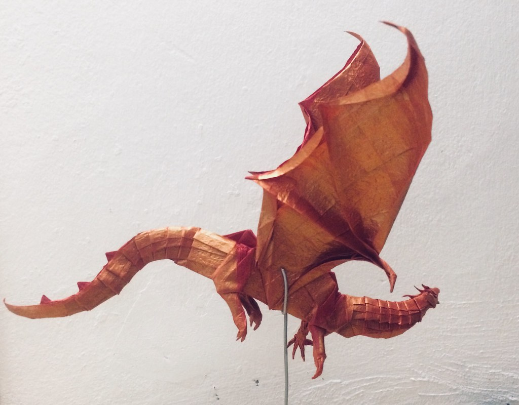 The Worlds Best Photos Of Dragon And Origami Flickr Hive Mind