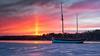 IMGP3468 (jarle.kvam) Tags: ngc sunpillar solsøyle raetnationalpark sea sailship ice water sunset solnedgang norway arendal tromøy