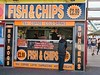 Fish & Chips, Blackpool, UK (Robby Virus) Tags: blackpool england uk unitedkingdom britain greatbritain fish chips sign signage food restaurant hot dogs burgers