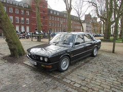 BMW M5 D533DAA (Andrew 2.8i) Tags: queen queens square bristol breakfast club show meet car cars classic classics german saloon qcar sports m e28 m5 bmw