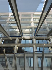 """Chicago, New Washington """"El"""" Station, Structural Detail (Mary Warren 10.1+ Million Views) Tags: chicago urban architecture building el rapidtransit station transportation abstract lines diagonals"""