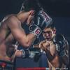 Fight NIght: Dominic O'Donnell (Strathclyde) v Alex Crespo  (Edinburgh) (FotoFling Scotland) Tags: fightnight gcalmuaythai glasgow glasgowcaledonianuniversity hamishwoodlecturehall muaythai sport thaiboxing boxing fight