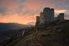 Rocca Calascio sunrise (DABMARCO www.marcodabbruzzi.com) Tags: rocca calascio abruzzo italy alba sunrise clouds