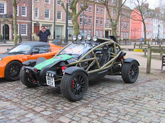 Ariel Nomad WA17FCV (Andrew 2.8i) Tags: queen queens square bristol breakfast club show meet car cars classic classics british off road roader exoskeleton noma offroad nomad ariel