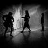 (pas le matin) Tags: people silhouettes silhouette nb bw lille travel france noiretblanc blackandwhite monochrome canon 7d canon7d canoneos7d eos7d