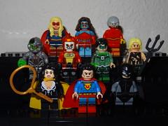 Crime Syndicate (GermanBrickster) Tags: dc dceu minifigures minifigure collection comics arrowverse lego superheroes superman batman flash cw toys blocks custom bricks
