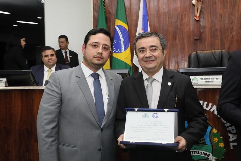 Sessão Solene em comemoração aos 20 anos de Fundação da Associação dos Jovens Advogados do Ceará (AJA-CE)