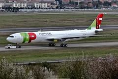 TAP Air Portugal Airbus A330-900 NEO (Planes Spotter And Aviation Photography By DoubleD) Tags: avion plane planes aircraft aviation aero air jet liner commercial tap portugal airline airlines airbus a330 a330900 a330neo neo msn 1850 toulouse engines rolls royce trent spotter spotting canon eos