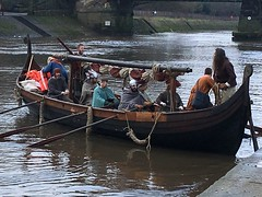 IMG_7505 (johnharrison9) Tags: york viking boat river ouse