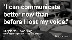 R.I.P. Stephen Hawking 1942-2018 @Wikipedia (dullhunk) Tags: stephenhawking hawking cambridge university universityofcambridge 1942 2018 rip restinpeace physics theoreticalphysics blackhole blackholes hawkingradiation cosmos cosmology wikipedia cosmologist briefhistoryoftime abriefhistoryoftime