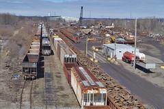 Midwest Steel 129 (Fan-T) Tags: midwest steel scrap freight car junk metal rust belt yn youngstown ohio
