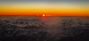 Aerial view of Sunset over the Atlantic Ocean (mbell1975) Tags: puntacana laaltagracia dominicanrepublic do aerial view sunset over atlantic ocean sun yellow orange blue earth horizan cloud clouds sky