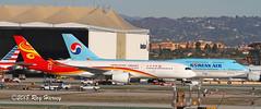 Asian Heavies at LAX (320-ROC) Tags: hongkongairlines blgc korean koreanair hl7632 airbusa350 boeing747 airbusa350900 boeing7478 airbusa350941 boeing7478b5 airbus boeing a350 747 a350900 7478 a350941 7478b5 a359 b748 klax lax losangelesinternationalairport losangelesairport losangeles imperialhill