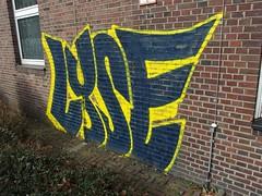 LYSE (mkorsakov) Tags: dortmund city innenstadt klinikviertel graffiti wand wall piece bunt colored lyse