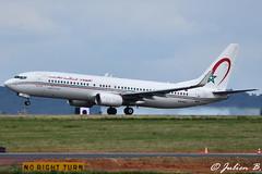 DSC_0119 (Julien Bci) Tags: boeing 737 royal air maroc cdg spotting