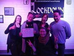 Ulos päästiin taas! #lockdowntampere w/ @astanneli @hemunem ja Linda ja Leena