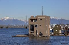 Houseboat (Clayton Perry Photoworks) Tags: vancouver bc canada winter explorebc explorecanada ladner houseboat