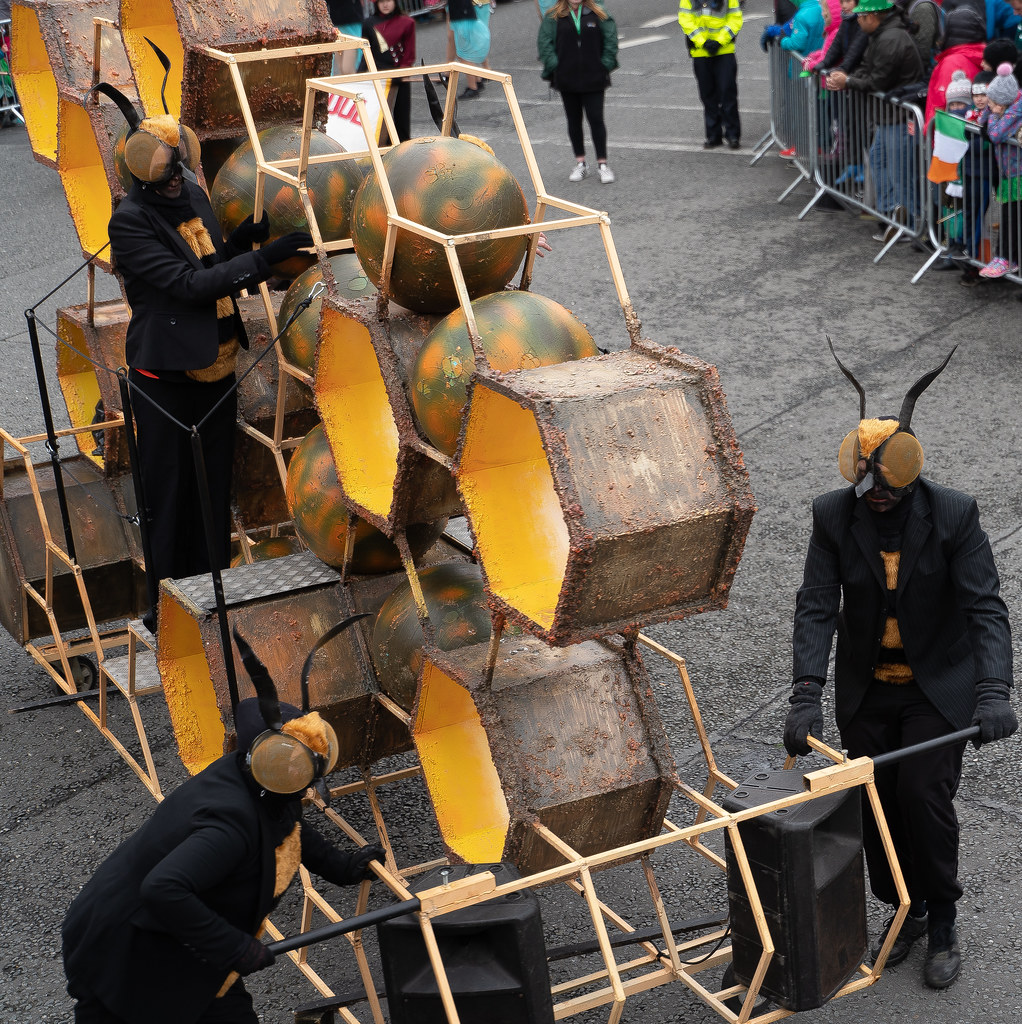 INSECTOPIA BY SPAORI [DUBLIN PARADE 17 MARCH 2018]-137729