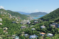 Sea views (Andy Coe) Tags: cruise ship thomson marella discovery caribbean british virgin islands hurricane destruction devastation damage property houses homes roads cars boats