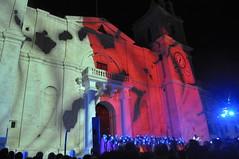 Valletta - Flag (tcchang0825) Tags: malta valletta city lightshow valletta2018