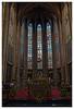 Trois plantes vertes (Jean-Marie Lison) Tags: eos80d sigmaart église notredamedusablon bruxelles autel chœur vitraux hdr