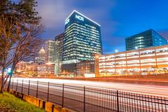 NCR Atlanta (Jon Ariel) Tags: ncr ncrworldheadguarters atlanta georgia ga lights traffic morning