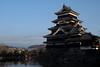 Matsumoto castle(松本城) (daigo harada(原田 大吾)) Tags: matsumoto view castle architecture building water moat bridge