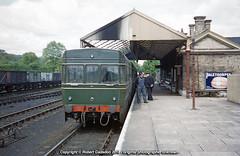 1955 - 'Flying Bricks' at the 'Abbey.. (Robert Gadsdon) Tags: 1955 acv but flyingbrick railcar prototype stalbansabbeystation diesel withdrawn scrapped m79740