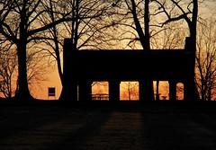 Spring Sunset (humbletree) Tags: madisonwisconsin sunset park spring olympus em5