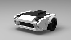 WIP - Mazda FC of Initial D 5th Stage (KMP MOCs) Tags: car wip cars initiald mazda fc coupe supercar sportscar gt anime drift lego moc projectd downhill racing racer race rx7 ryousuke ryosuke