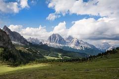 part of Giau Pass with view for Ra Gusela, Tofana di Rozes, Tofana di Mezzo in the background / Dolomites, Italia (stoplamek) Tags: dolomites dolomity włochy italy italia giaupass passogiau ragusela tofanadirozes tofanadimezzo