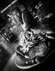 Crab Cooking (King Grecko) Tags: america bw travel traveldestinations usa blackandwhite california canon contrast cooking crabs fishermanswharf food sanfrancisco