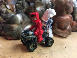 Hot Wheels motorcycles for MiniMates