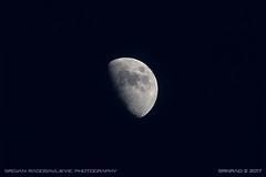 Half moon, May 2017 (srkirad) Tags: moon closeup night dark light astronomy belgrade beograd serbia srbija planet