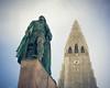 Leifur Eiríksson (Thomas James Caldwell) Tags: leif eriksson hallgrímskirkja church landmark viking statue alexander stirling calder