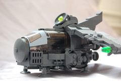 Close up of the Hunter (sander_koenen92) Tags: lego space moc ship fighter