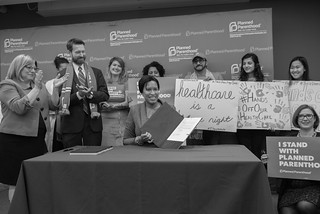 January 31, 2018 Defending Women's Health Bill Signing
