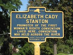 Elizabeth Cady Stanton (Itinerant Wanderer) Tags: newyorkstate senecafalls