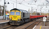 Freightliner 66599 - Ely (Neil Pulling) Tags: class66 freightliner elystation ely railwayinfrastructure infrastructure uk railway train 66599