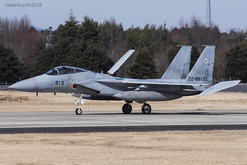 Japan Air Self Defence Force, McDonnell Douglas F-15J Eagle, 22-8813.