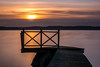 Seaside Serenity (Jens Haggren) Tags: sea seascape water sky clouds light jetty serenity landscape view nature olympus em1 nacka sweden jenshaggren sunrise morning