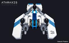 Ataraxis: From Above (tardisblue) Tags: lego space moc spaceship ataraxis