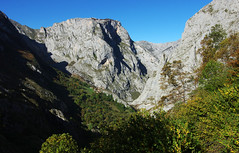 Day 1: Above Bulnes (Northern Adventures) Tags: spain spanish picosdeeuropa picos autumn fall october november hike hiking walk walking trek trekking track tracking backpacking wandering path footpath trail journey exploration adventure outdoors outdoor scenery scenic nature sun sunny sunlight