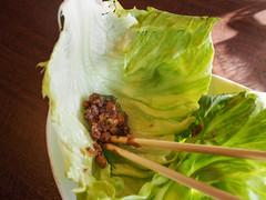 Natto & Lettuce (INZM.) Tags: manyo manyoclub 万葉倶楽部 みなとみらい minatomirai mm21 yokohama japan onsen 温泉 万葉の湯 natto lettuce 納豆 レタス