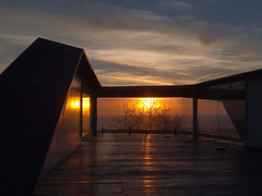 Sunset through view point (senza senso) Tags: cyprus paphos sunset
